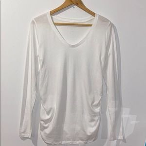 Isabel Maternity by Ingrid & Isabel White Top S